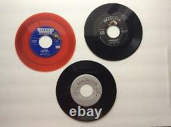 Lot 159+4 Amfile Cases Vintage 45 rpm Records Collection Jazz ect. +1/2 Free Ship