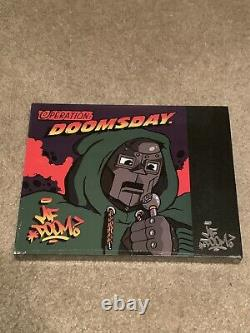 MF DOOM OPERATION DOOMSDAY 7 Inch Black Vinyl Collection Limited To 500