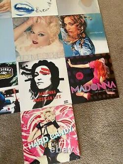Madonna 13-Vinyl Collection (Almost Complete) Barely Ever Used