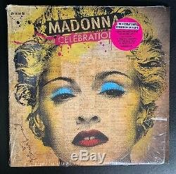 Madonna Celebration 4x LP The ULTIMATE Hits Collection RARE
