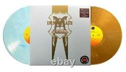 Madonna The Immaculate Collection Blue/White Marble+Gold Colored Vinyl 2 LP Rare