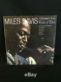 Miles Davis Kind of Blue 6-eye, 1st MONO Pressing, Final collection copy