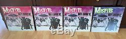 Misfits Walk Among us 1st 2nd 3rd 4th Press Vinyl Collection Rare Danzig Misfits