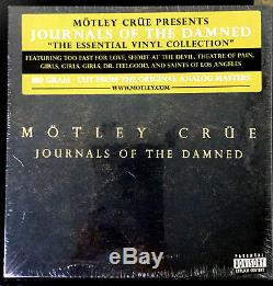 Motley Crue-journals Of The Damned-essential 6-lp Collection Box Set-sealed-rare
