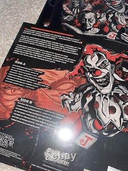 Music Of Halloween Horror Nights 2020 Red Vinyl Record Limited Editon Numbered
