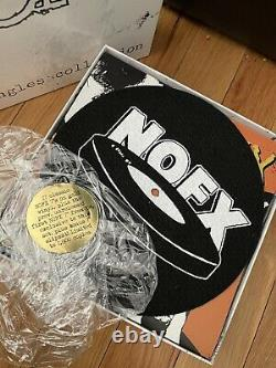 NOFX 126 Inches of NOFX (Singles Collection) Special Edition Gold-Color Vinyl