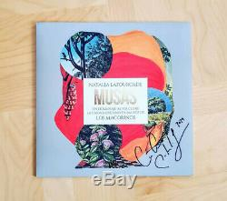 Natalia Lafourcade Musas Vol. 2 SIGNED vinyl record Out of Print! Collectable