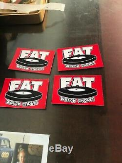 Nofx Fat Wreck Store Singles Collection 1 2 3 4 7 Inch Of Month Club Punk Vinyl