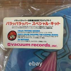 PaRappa The Rapper Record Special Kit Vinyl Killer Bus Record Japanese Game