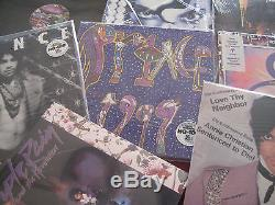 Prince The Beautiful Experience Collection Of 12 Singles & 180 Gram 14lps + Cds