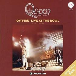 Queen LP Record Collection #15 ON FIRE Vinyl 3LP Live Bowl DeAGOSTINI withTrack