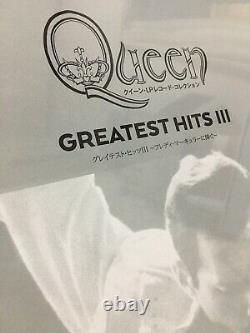 Queen LP Record Collection #17 Greatest Hits III 3 2LP Vinyl DeAGOSTINI withTrack