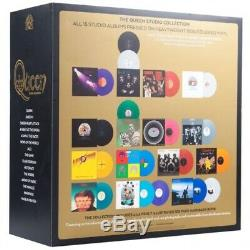 Queen The Studio Collection 18 Color Vinyl 180g LPs New, Sealed, Preorder