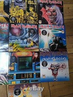 RARE Iron Madien The First Ten Years Vinyl Collection with box