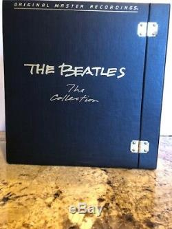 RARE THE BEATLES COLLECTION 1982, MFSL Half Speed Mastered Box set #13572