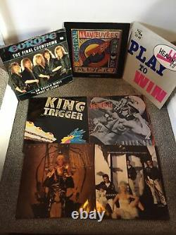 Record Box Full Of 80s Vinyl Records (joblot / Collection)
