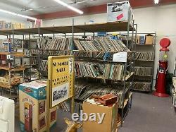 Record Collection, around 20,000 anything and everything