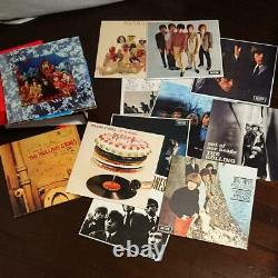 Rolling Stones Record Box 12 LP disc set Collection Rock BAND