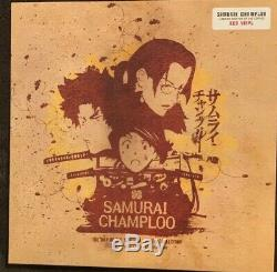Samurai Champloo The Way Of The Samurai Red Vinyl Collection 3LP Nujabes Red