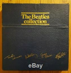 THE BEATLES COLLECTION PARLOPHONE BC 13 14 LP BLUE BOX SET WithINSERTS NM