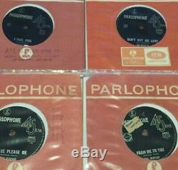 THE BEATLES RARE Aussie/OZ Collection/LOT of 17 x 7/45