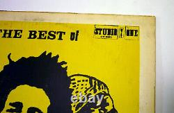 THE BEST OF BOB MARLEY AND THE WAILERS LP GM 0002 Coxsone Rare Collectible