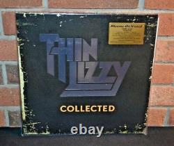 THIN LIZZY Collected, Limited Import 180G 2LP SILVER VINYL Foil #'d Sealed