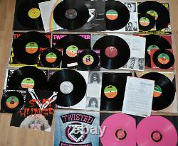 TWISTED SISTER Vinyl collection 1981 1987 rare items