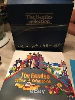 The Beatles Blue Box Collection BC 14 all albums NEW rare Serial #5541