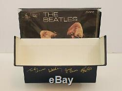 The Beatles Blue Box Collection Singles LP`s E. P. S Singles Collections Lot