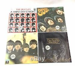 The Beatles Collection BC13 1979 Vinyl Blue Box Parlophone EMI Italy Inserts