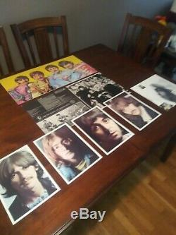 The Beatles Collection, Blue Box, UK Edition, BC-13,14 LP's Played Once NICE