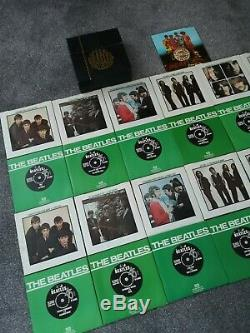 The Beatles Collection Vinyl Box Set 25 x 7'' Inch Singles Inc Sgt Peppers