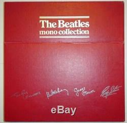 The Beatles Red Box Mono Collection 1982 UK