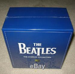 The Beatles THE SINGLES COLLECTION 2019 Box Set on Heavyweight Vinyl NEW SEALED