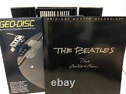 The Beatles The Collection 14 LP US 1982 MFSL Box No. 839 + Geo Disc