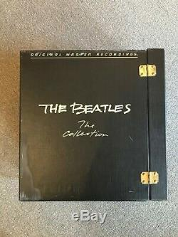 The Beatles, The Collection Near Mint Mobile Fidelity MFSL Audiophile 14 LPs