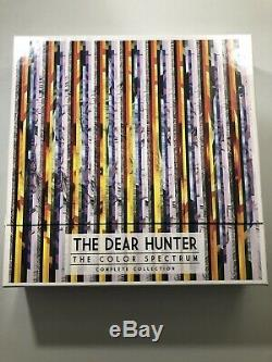 The Dear Hunter, The Color Spectrum Complete Collection, Vinyl Box Set, Rare