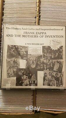 The History And Collected Improvisations Frank Zappa And The Mothers Of