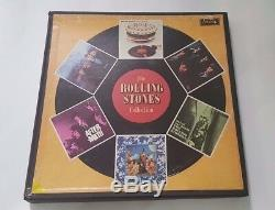 The Rolling Stones Collection Box BRAZIL 6 LP RARE- stoned 12 X 5 sticky fingers