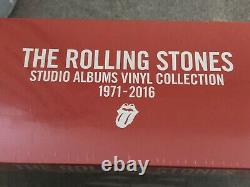 The Rolling Stones Studio Albums Vinyl Collection 1971-2016 box set NEW SEALED