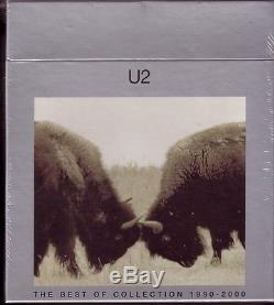 U 2 The Best Of Collection 1990 2000 7 INCH VINYL + Promo Box Set SEALED