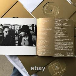 U2 The Best Of 1980 1990 Promo Box Set Double CD And Vinyl Collection Rare