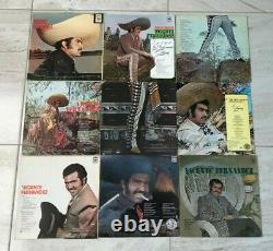 Vicente Fernandez 37 Lp Lot Whole Collection From 1967 To 1990 Cbs Mexico