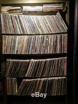 Vinyl LP Record Collection 1000 + Albums Classic Rock From 60's, 70's, 80's
