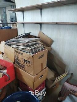 Vinyl record collection 10,000 LPS Rock/Jazz/Classical/Country/Folk/Disco