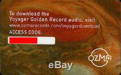 Voyager Golden Record 40th Anniversary Edition, 3 Vinyl LP, Deluxe
