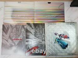 WipEout Omega Collection Limited Vinyl record press pack Super rare