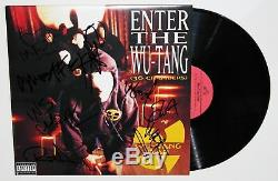 Wu-tang Clan Signed Enter The 36 Chambers Lp Vinyl Record Autographed Jsa Loa